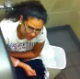 A girl sneaks into a public restroom where her friend is pooping and starts recording. There are some nice views but no audible pooping sounds.