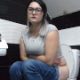 A plump, Eastern-European girl sits down on a toilet, puts on glasses, takes a long piss, then immediately shits with a cluster of soft-sounding, sloppy plops. She texts on her phone, tries to push more out, then wipes. 720P HD. About 6.5 minutes.