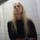 A hidden camera records an unsuspecting, pretty blonde girl taking a piss and shit while sitting on a toilet. Very subtle pooping sounds. Presented in 720P HD. Over 1.5 minutes.