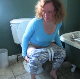 A German woman is recorded taking her morning shit and piss. The turd is absolutely massive and long. More keeps coming out. Finished product shown in toilet bowl, too!  Presented in 720P HD. About 7 minutes.