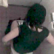 An amateur Japanese video clip featuring a girl sitting on a toilet and flushing several times (a noise coverup or courtesy flush?). At the last moment, she snaps her head around like something out a freaky Japanese horror movie and catches the cameraman!