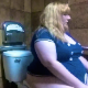 A blonde fat girl records herself taking a piss and a shit in a Taco Bell public restroom. The ladies room was locked, so she used the mens toilet instead. Audible farting and pooping, but no product shown. 720P HD. Over 2.5 minutes.