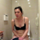 Peteuse takes runny shits in her hotel bathroom toilet in Thailand in at least 9 scenes. Lots of nasty pooping sounds can be heard. Presented in 720P HD. Over 8 minutes.