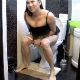 An attractive woman records herself taking a shit while sitting on a toilet. Poop action is visible and shown in a couple of different perspectives. Wiping and dirty TP seen, but finished product is not visible. Presented in 720P HD Over 4 minutes.
