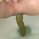 A woman records herself from a close & nasty, between the legs perspective as she takes a shit into a toilet in 6 scenes. Varying textures of poop from hard to runny. Presented in 720P HD. 246MB, MP4 file. About 13 minutes.