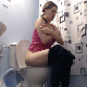 A girl sits down on a toilet and takes a crackling, soft shit followed by a piss. She wipes thoroughly when finished. Very nice, natural clip. Presented in 720P HD. Over 2.5 minutes.