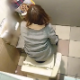 A daring cameraman records about 15 different women taking a piss in a public restroom toilet at a store, most likely in an Asian country. At least 2 or more pooping scenes are included. 720P vertical HD format. 238MB. About 15.5 minutes.