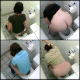 This video features about 18 different scenes of women secretly video-recorded from above the bathroom stalls as they use a public toilet. These are mainly peeing scenes with a few pooping scenes as well. 103MB file. 14 minutes.