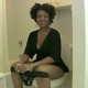 A black girl sets a camera beneath a toilet seat to simulate a bowlcam experience as she takes a shit and speaks to us. 105MB, MP4 file. Presented in 720P HD. Over 8 minutes.