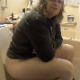 An older woman takes a shit while sitting on a toilet. After wiping her ass, her turds are shown in the toilet bowl, and someone tries to fish them out of the water as it flushes. See movies 13893-13898 for more. 720P HD. 134MB, MP4 file. Over 6 minutes.