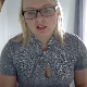 A plump, blonde girl finishes up an in-depth, virtual teaching session online. When finished, she starts farting repeatedly. Unfortunately for her,  this hot fart moment becomes a hot mic moment. Farting only. Presented in 720P HD. About 6 minutes.