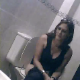 A nice, but brief video clip of a woman wiping herself thoroughly after taking a shit in a public restroom. Too bad we could not get to see her actually taking the shit, too! This appears to be genuine voyeur material.