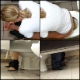 A daring cameraman spends a lot of time in a public restroom recording multiple women using the toilets around his stall in this seemingly genuine voyeur video. 131MB, MP4 file. About 25.5 minutes.