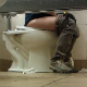 A guy video-records two women in a Wal-Mart public restroom. One girl is pissing, and the other one is pissing & shitting. Video features audible poop sounds and visible poop in the toilet bowl when she stands up to wipe. About 3 minutes.