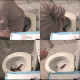 15 minutes of pooping & farting from unaware Wurstchen. Watch how she looks at her smeared toilet paper. All original videos taken by myself, not stolen from another site. Please see my other posts (2854 & 2899).