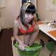 An attractive, Eastern-European girl poses for the camera, then takes a massive shit and a piss onto a plate. Presented in 720P HD. 215MB, MP4 file. Over 10 minutes.
