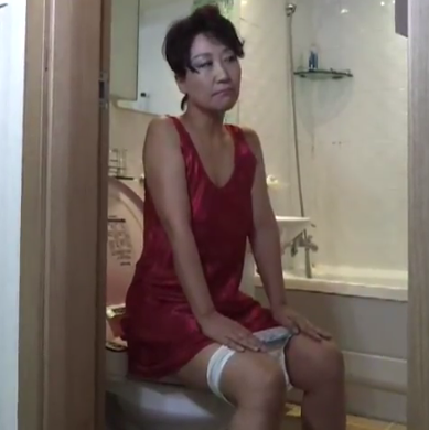 asian pooping