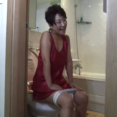 constipated asian woman xxx