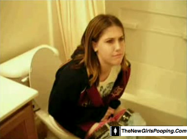girls pooping and farting in the toilet | just b.CAUSE